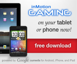 inMotion Gaming Mobile App