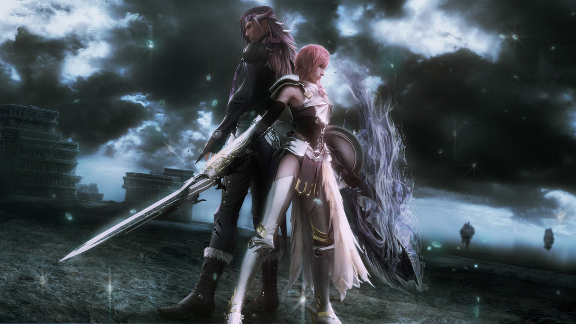 final fantasy xiii 2 wallpapers free downloads