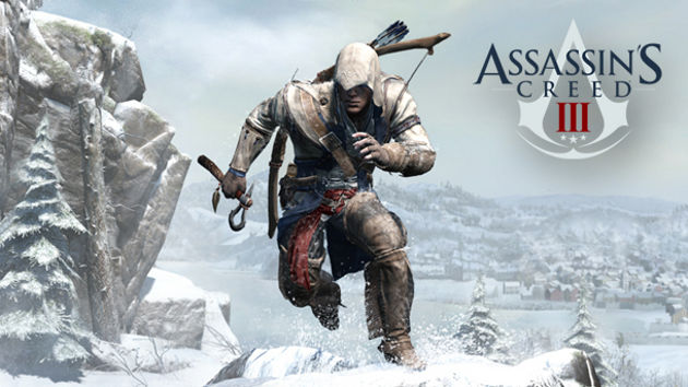 Assassins Creed III Logo Jump