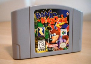 Banjo-Kazooie Cartridge