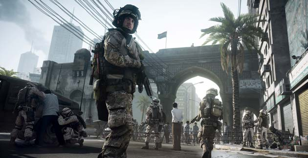 Battlefield 3 - Game Locations Images