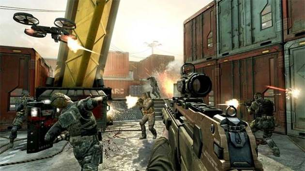 Call of Duty: Black Ops II Gunplay