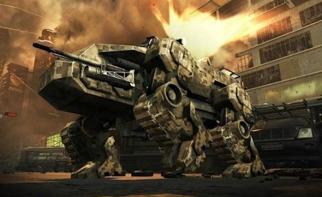 Call of Duty: Black Ops II Robotank