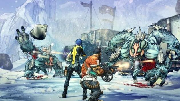Borderlands 2 Ice Monsters