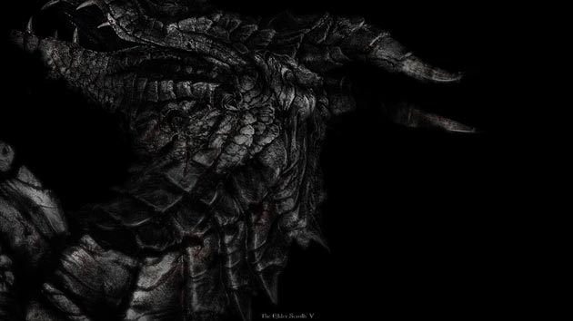 Elder Scrolls V - Skyrim Wallpaper - Dragon