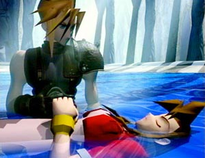 Example scene from Final Fantasy VII