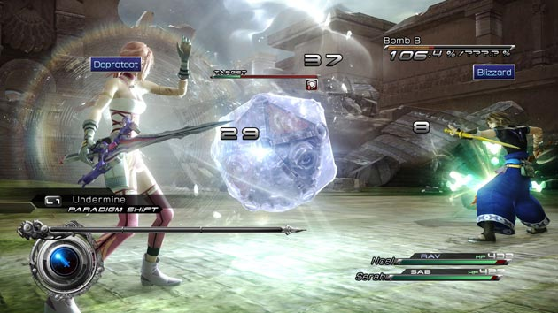 Final Fantasy XIII-2 - Game Screenshot
