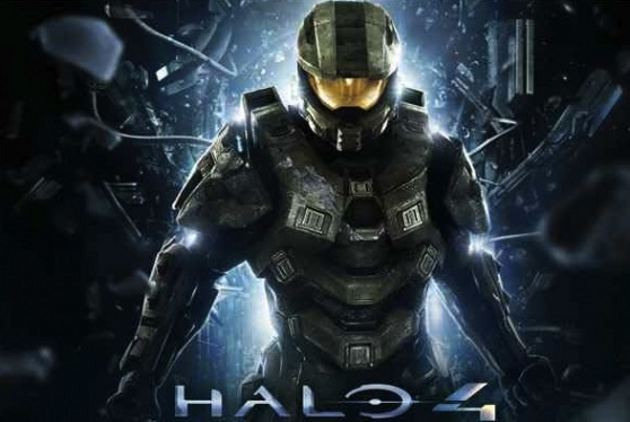 Halo 4 Chief Title