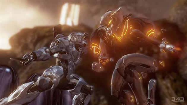 Halo 4 Vs Promethean