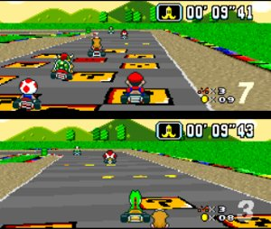 A Brief History of Racing Games Super Mario Kart