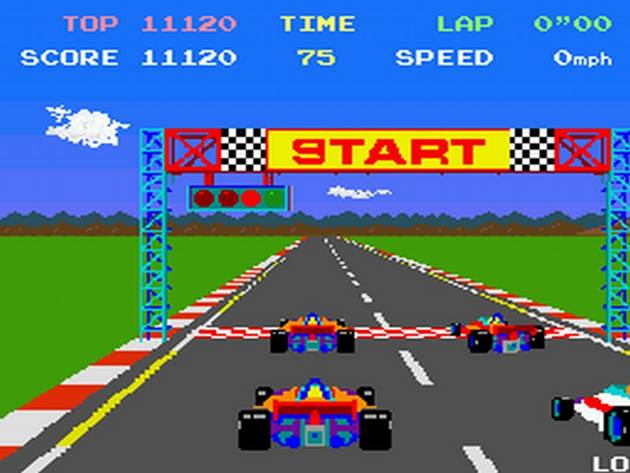 A Brief History of Racing Games Pole Position