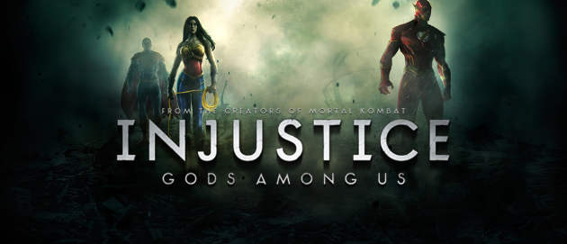 Injustice: Gods Among Us Title
