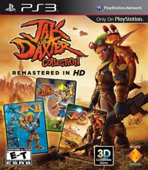 Jak and Daxter HD Collection Boxart