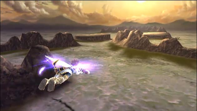 Kid Icarus: Uprising - Landscape Screenshot