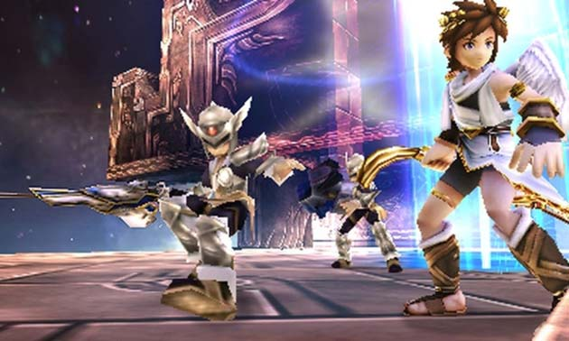 Kid Icarus: Uprising - Screenshot