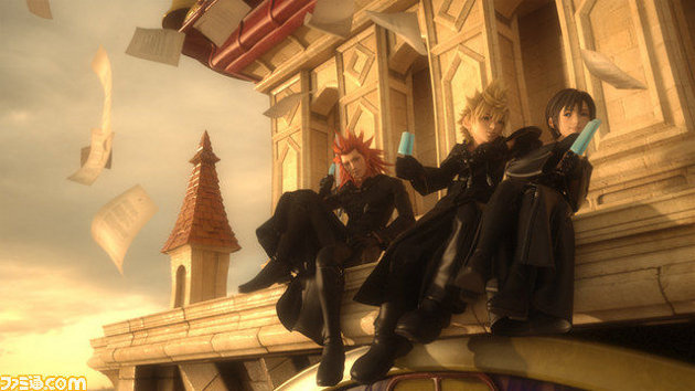 Kingdom Hearts 3D Roxas and Friends