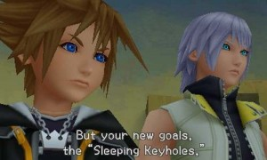 Kingdom Hearts 3D: Dream Drop Distance Sora Riku Exam