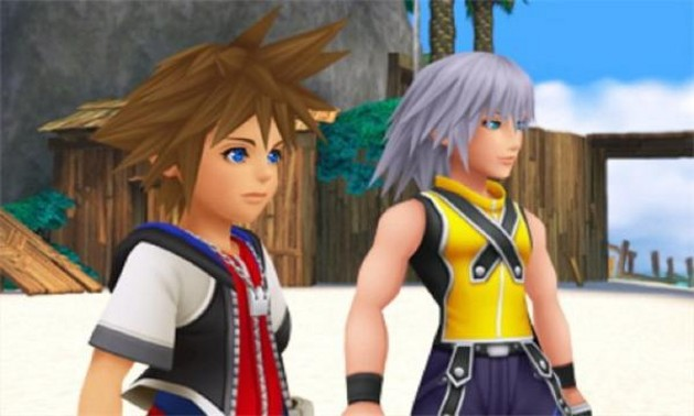 Kingdom Hearts 3D Sora and Riku