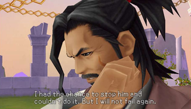 Kingdom Hearts: Birth By Sleep Eraqus Dialogue
