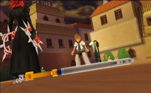 Kingdom Hearts II Axel vs Roxas