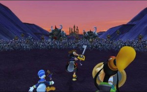 Kingdom Hearts II Battle of 1000 Heartless