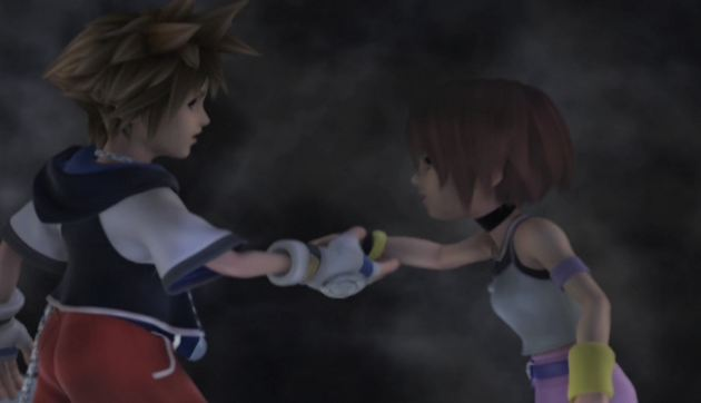 Kingdom Hearts Sora Kairi