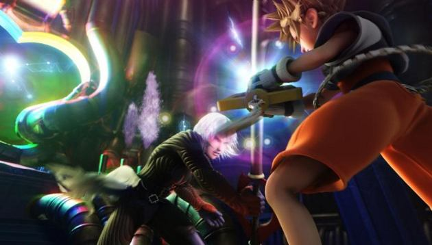 Kingdom Hearts Sora Vs Riku