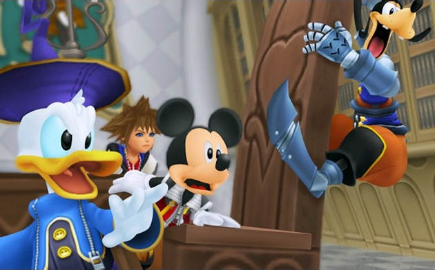 Kingdom Hearts: coded Shocked