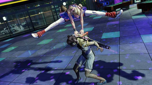 Lollipop Chainsaw Highjump