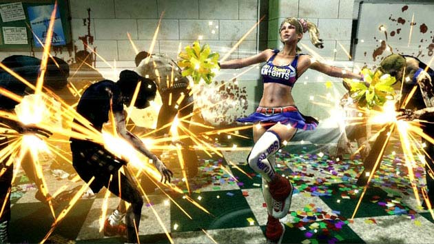 Lollipop Chainsaw Sparks