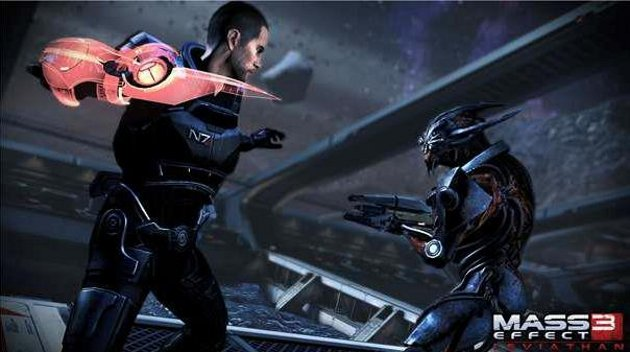 Mass Effect 3: Leviathan Omniblade