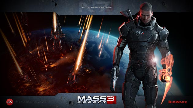 Mass Effect 3 Wallpaper HD - Shepard