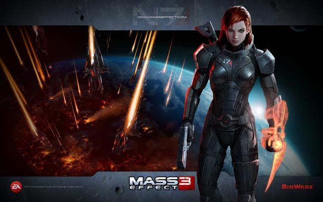 Mass Effect 3 Wallpaper HD