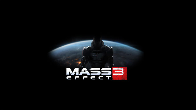 Mass Effect 3 Wallpaper - Logo HD