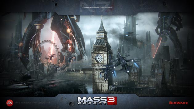 Mass Effect 3 Wallpaper - London HD - 1920x1080