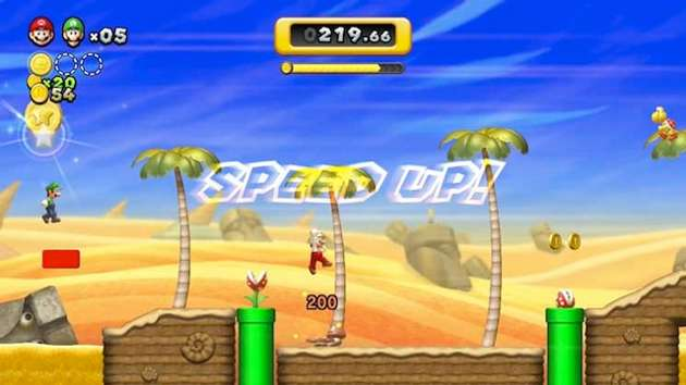 New Super Mario Bros. U Boost Rush