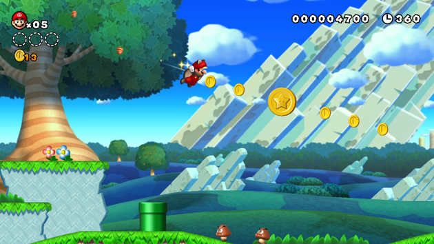 New Super Mario Bros. U Squirrel