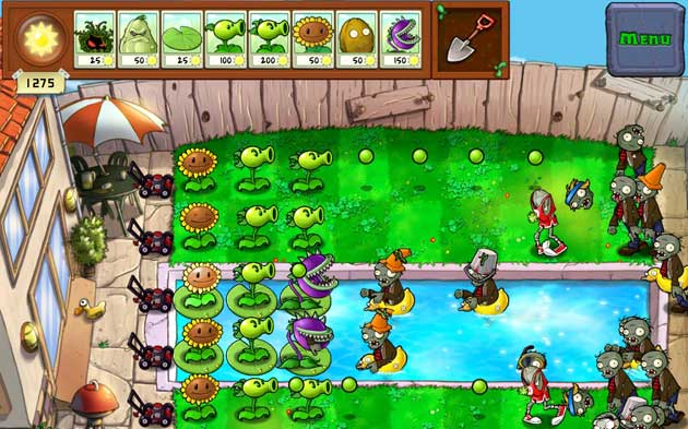 Plants vs. Zombies Video Game Image