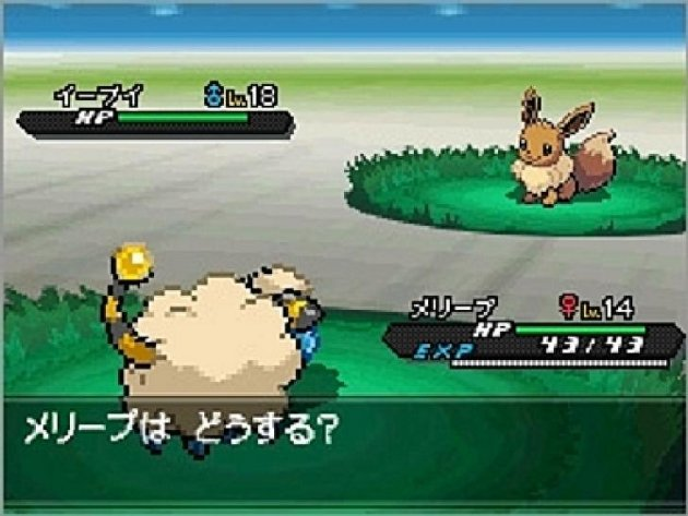Pokemon Black 2 White 2 Vs Eevee