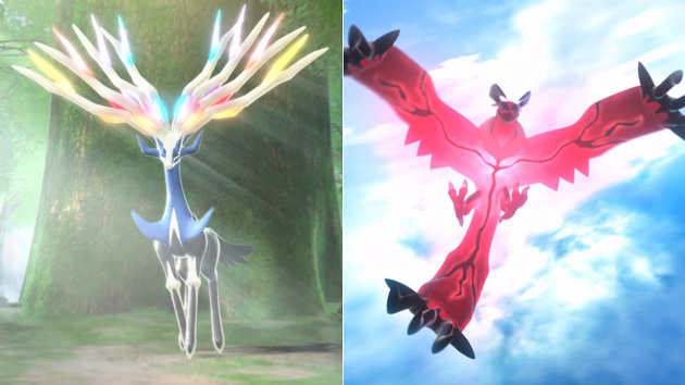 Pokemon X and Y Cover Legends