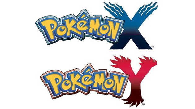 Pokemon X and Y Logos