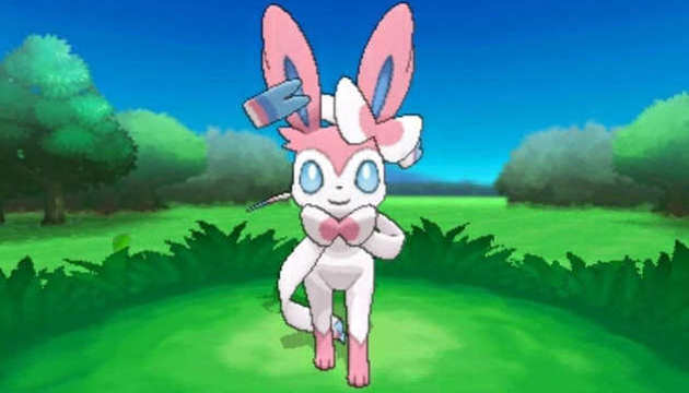 Pokemon X and Y Sylveon