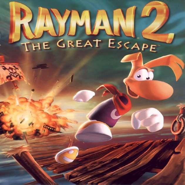 Rayman 2 Title