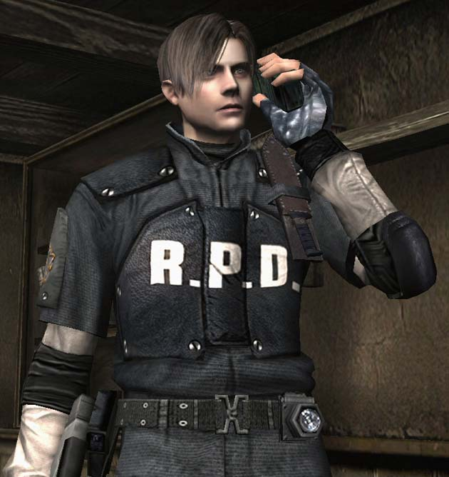 Resident Evil 4 Leon in the Secret RPD Costume