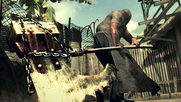 Resident Evil 5 - Axeman