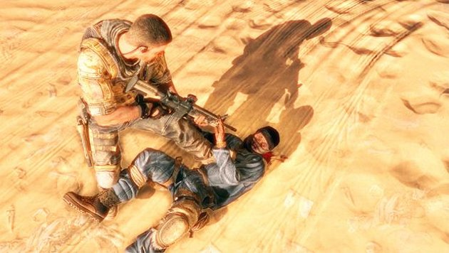 Spec Ops: The Line Gunpoint