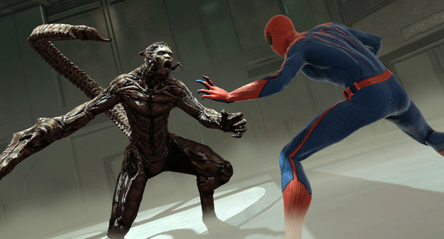 The Amazing Spider-man vs Scorpion