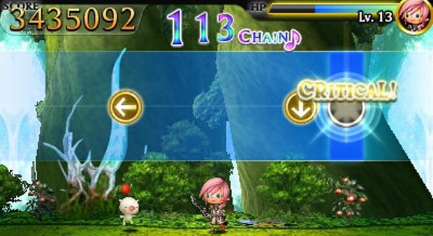 Theatrythm Final Fantasy - Screenshot