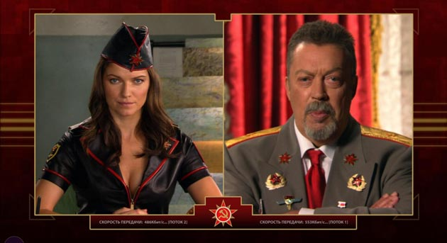 Tim Curry in C&C Red Alert 3 overacting is part of the fun