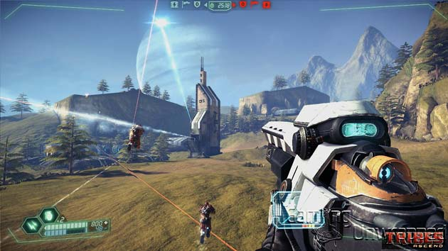 Tribes Ascend - Drydock Screenshot